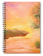 Shack In The Bayou At Dawn Spiral Notebook