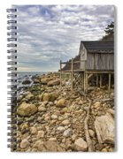 Shack On The Sound Spiral Notebook