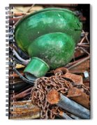 Shade And Chain Spiral Notebook