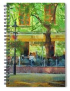 Shaded Cafe Spiral Notebook