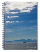 Blue Skies And Bluer Seas Spiral Notebook