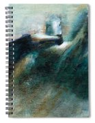 Shades Of Blue Spiral Notebook
