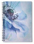 Shades Of Blue Spiral Notebook