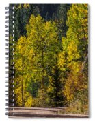 Shades Of Fall Spiral Notebook