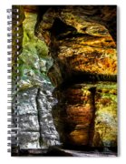 Shades Of Light And Color Spiral Notebook
