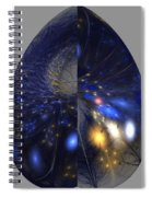 Shades Of Midnight Spiral Notebook