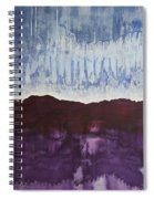 Shades Of New Mexico Original Painting Spiral Notebook