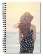Shades Of Yesterday Spiral Notebook