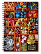 Shadow Box Collection Spiral Notebook