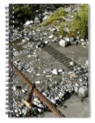 Shadow Bridge Spiral Notebook