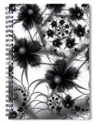 Shadow Flowers Spiral Notebook