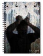 Shadow Of A Man Spiral Notebook