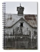 Shadow Of The Dog Spiral Notebook