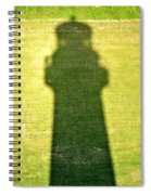 Shadow Of Tybee Lighthouse Spiral Notebook