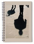 Shadow People In London # 2 Spiral Notebook