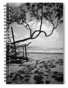 Shadow Tree Cas En Bas Spiral Notebook
