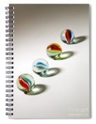 Shadowed Marbles Spiral Notebook