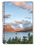 Shadowing Goose Island Spiral Notebook