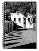 Shadows At Clos Pegase Winery Spiral Notebook