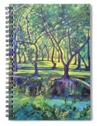Shadows At Noon - Indian Landscapes Spiral Notebook
