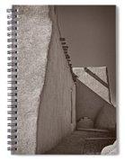 Shadows In Palladium Spiral Notebook