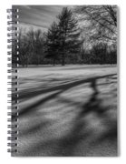 Shadows In The Park Square Spiral Notebook