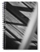 Shadows Of Carpentry Spiral Notebook