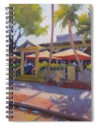Shadows On Tommy Bahamas Spiral Notebook