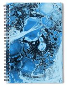 Shadows Under Ice Spiral Notebook