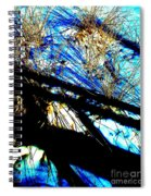 Shadowy Snowy Dune Spiral Notebook