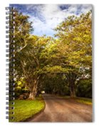 Shady Lane Spiral Notebook