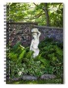 Shady Perennial Garden Spiral Notebook