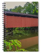 Shaeffer Or Campbell Covered Bridge Spiral Notebook