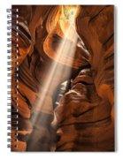 Shaft Of Light Spiral Notebook