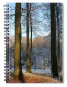 Light And Shadows In Wintertime Spiral Notebook
