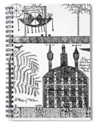 Shaker Drawing, 1845 Spiral Notebook