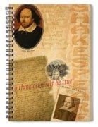 Shakespeare 2 Spiral Notebook