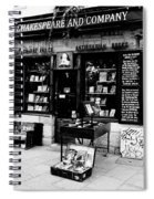 Shakespeare And Company Boookstore In Paris France Spiral Notebook