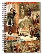 Shakespeare's Hamlet 1884 Spiral Notebook