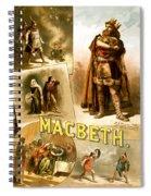 Shakespeare's Macbeth 1884 Spiral Notebook