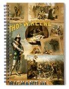 Shakespeare's Richard IIi 1884 Spiral Notebook