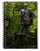 Shakespeare In Central Park Spiral Notebook