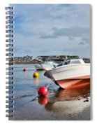 Shaldon-teignmouth Harbour 3 Spiral Notebook