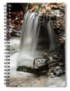 Shale Creek Waterfall Spiral Notebook