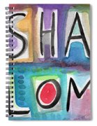 Shalom - Square Spiral Notebook