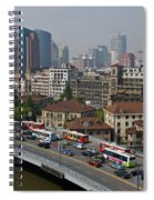Shanghai, China Spiral Notebook