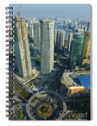 Shanghai From Above Spiral Notebook