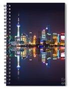 Shanghai Reflections Spiral Notebook