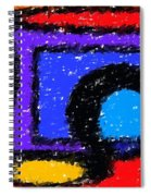 Shapes 1 Spiral Notebook