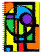 Shapes 11 Spiral Notebook